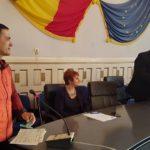 Diplomă decernată de Prefectura Alba pentru maratonistul aiudean Levente Polgar