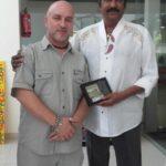 Premiu pentru artă obținut în India, de către artistul aiudean Ștefan Balog