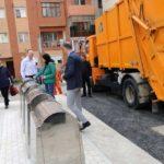 A fost dată în folosință prima platformă subterană de colectare selectivă a deșeurilor din Municipiul Aiud