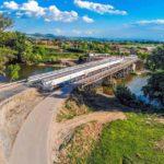 S-a deschis circulația publică pe noul pod peste râul Mureș, care leagă DN 1 de localitatea Rădești