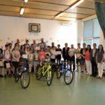 """Elevii Şcolii Gimnaziale """"Axente Sever"""" din Aiud, câștigătorii etapei județene a concursului """"Educaţie Rutieră – Educaţie pentru Viaţă"""", organizat de IPJ Alba"""