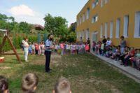 """IPJ Alba în parteneriat cu IȘJ Alba și CJ Alba au organizat astăzi la Grădinița """"Primii Pași"""" din Aiud concursul de colaje """"Atenție! Circul și eu!"""""""