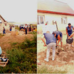 Activitate de voluntariat a mai multor tineri deținuți din Penitenciarul Aiud, în localitatea Sânicoară, din județul Cluj