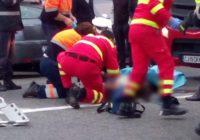 Un bărbat a fost accidentat mortal de un TIR, în timp ce traversa strada Stadionului din Aiud prin loc nepermis