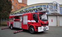 Detașamentul de pompieri din Aiud a fost dotat cu o autospecială de intervenție și salvare de la înălțimi, model M42L