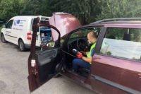 Amenzi în valoare de 1.450 lei aplicate de polițiștii din Aiud și Mirăslău, în urma unei acțiuni de control în trafic organizată pe DN1, în colaborare cu reprezentanții RAR Alba