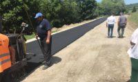 A început asfaltarea DJ 103E, de la conexiunea cu DN 1 și până la Gârbova de Sus